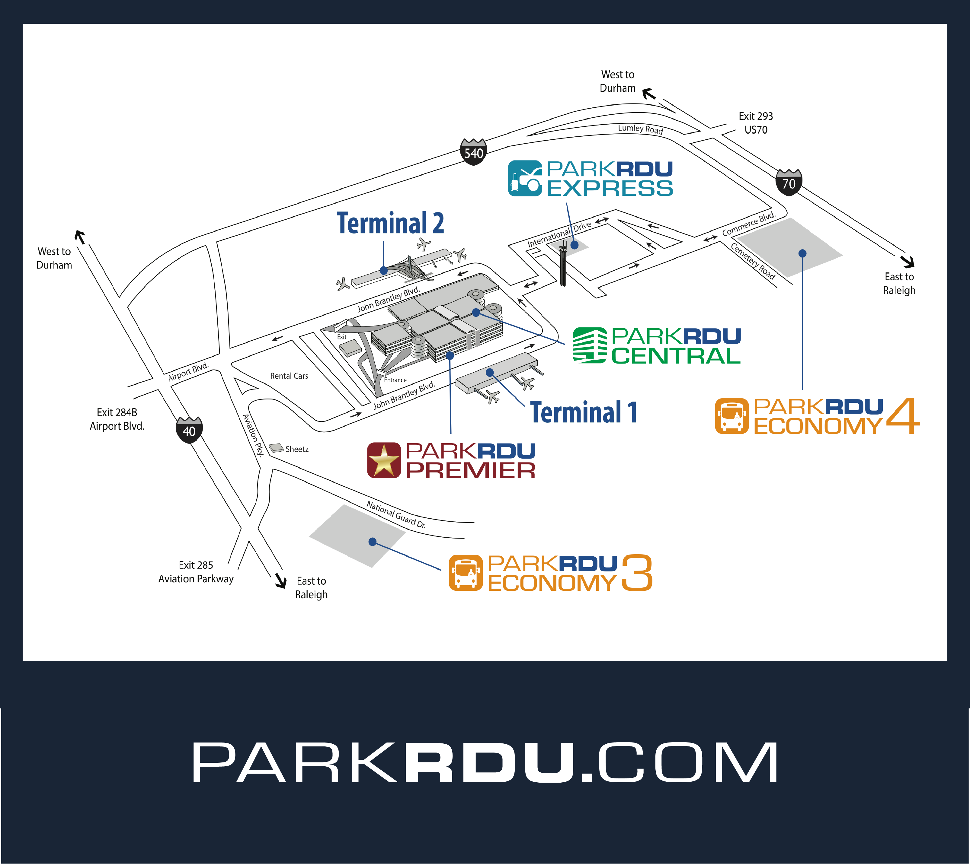 Book your parking Rdu Airport Map on ewn airport map, evv airport map, rno airport map, mfe airport map, lft airport map, fnt airport map, mlu airport map, fai airport map, clt airport map, bgr airport map, durham airport map, eug airport map, portland international airport map, ilm airport map, jac airport map, edi airport map, roc airport map, sbp airport map, airlines washington dulles airport map, fay airport map,